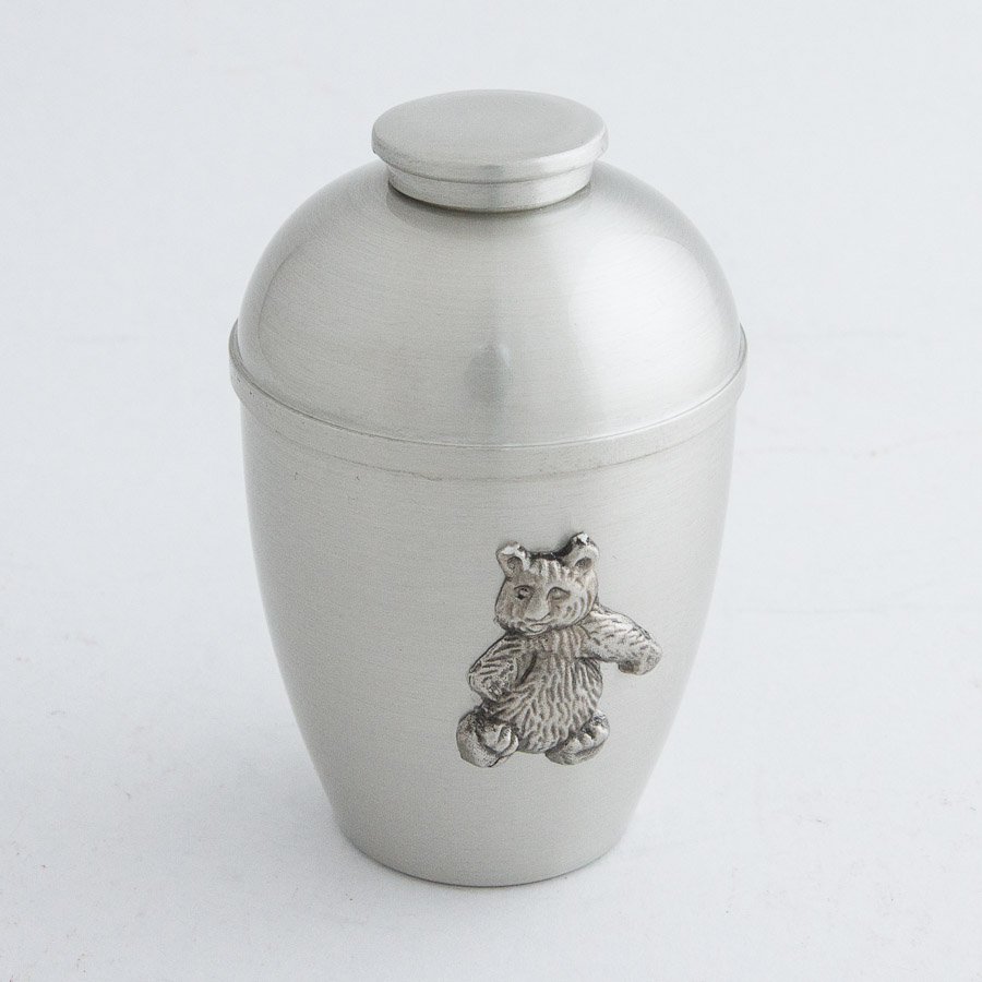 Adult teddy bear cremation urns