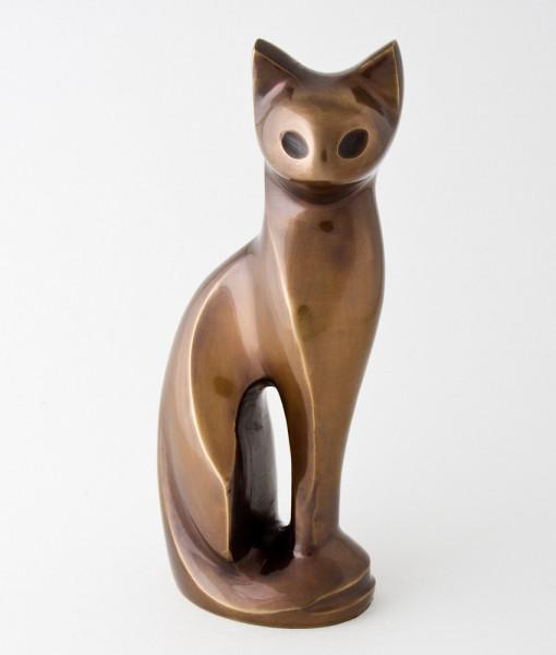 Spirit of Cat figurine urn