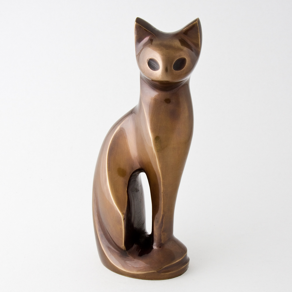Spirit of Cat figurine urn