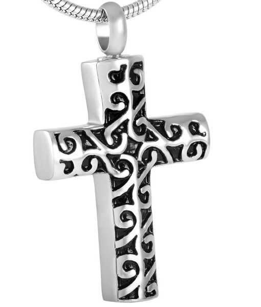 memorial cremation jewellery cross