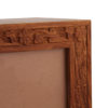 Engraved Photo Frame Timber Urn 5