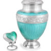 Adult Azure Cremation Urn