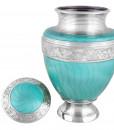 Adult Azure Cremation Urn 2