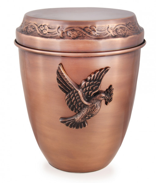 Copper Scattering Urn