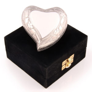 cremation keepsake heart