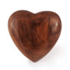 Timber Heart Cremation Urn 2