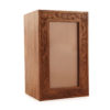 Engraved Photo Frame Timber Urn  2