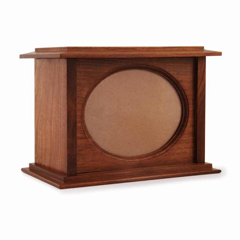 Oval Photo Cremation Urn