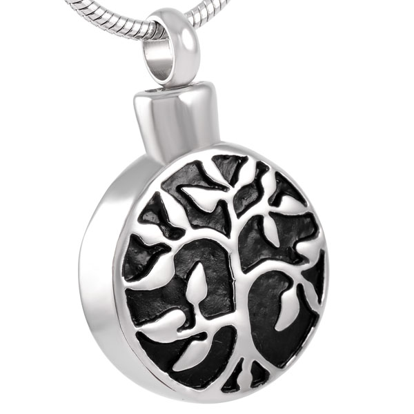 tree of life cremation jewellery